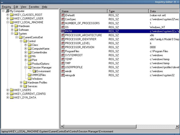 Microsoft Windows programming environment under FreeBSD